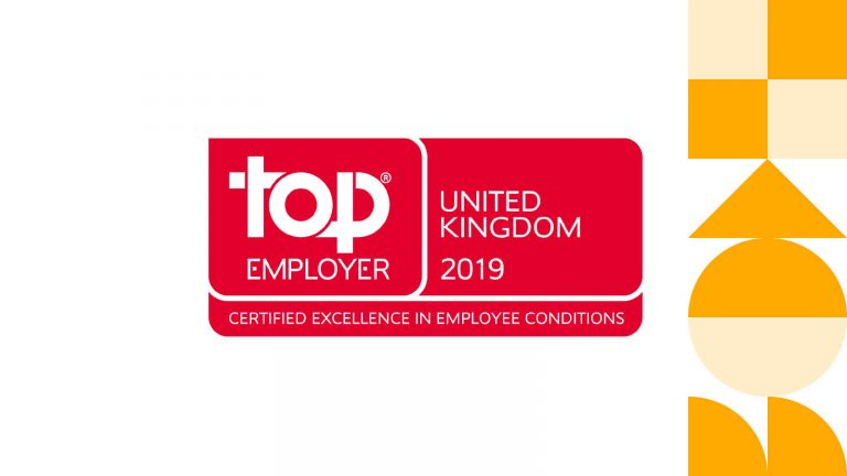GROUPM UK CERTIFIED AS A TOP EMPLOYER 2019