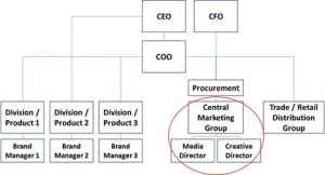 Company's reporting structure