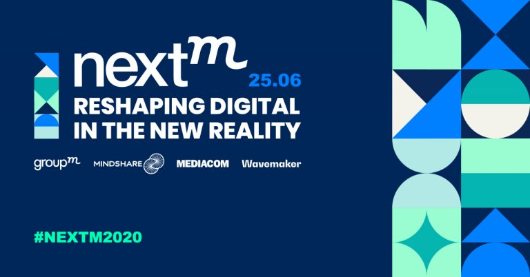 GroupM NextM Russia 2020: Reshaping Digital In The New Reality
