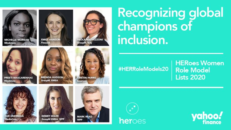 Eighteen WPP leaders recognised in the HERoes Women Role Model Lists 2020